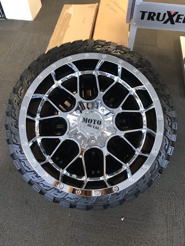 ️Brand New 20x10 MOTO 986 Chrome Rims For Sale In Duluth