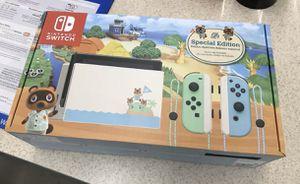Photo Nintendo Switch Animal Crossing: New Horizon Limited Edition