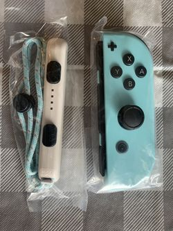 New And Unsed authentic  Animal Crossing Edition Nintendo Switch Joycons Joy Con Left + Right Controllers Thumbnail