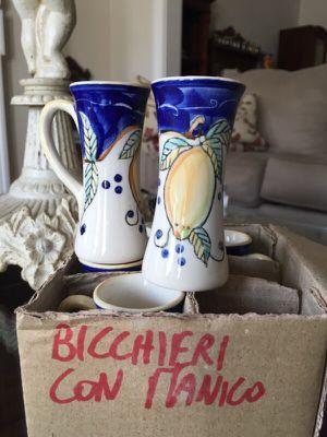 Cups Italian Hand Painted for Sale in Alexandria, VA