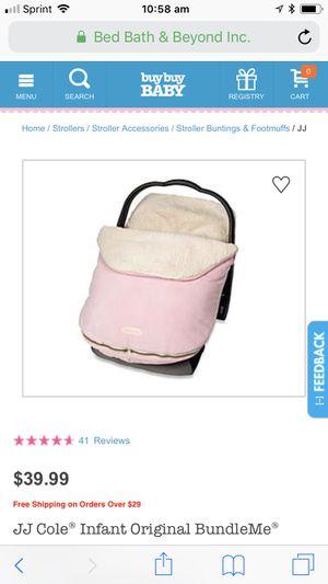 JJ COLE Infant Car seat BUNDLE ME for Sale in Waldorf, MD