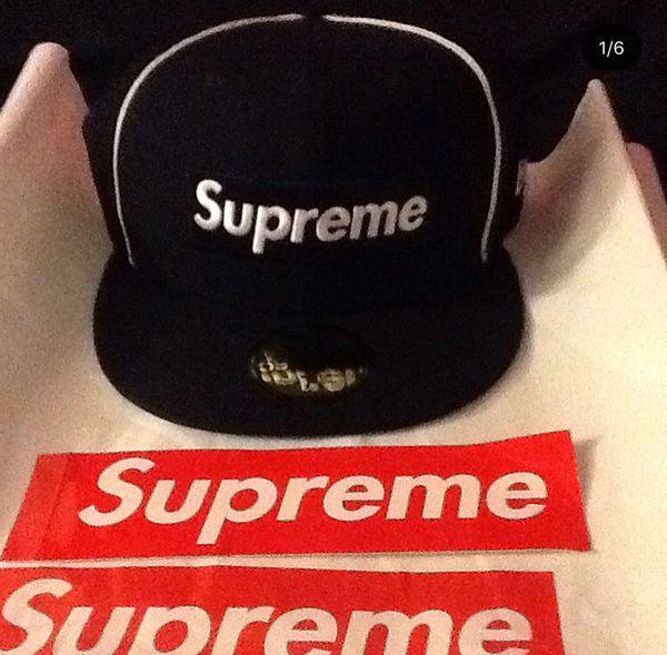 Authentic supreme hat fb15aacc0ec