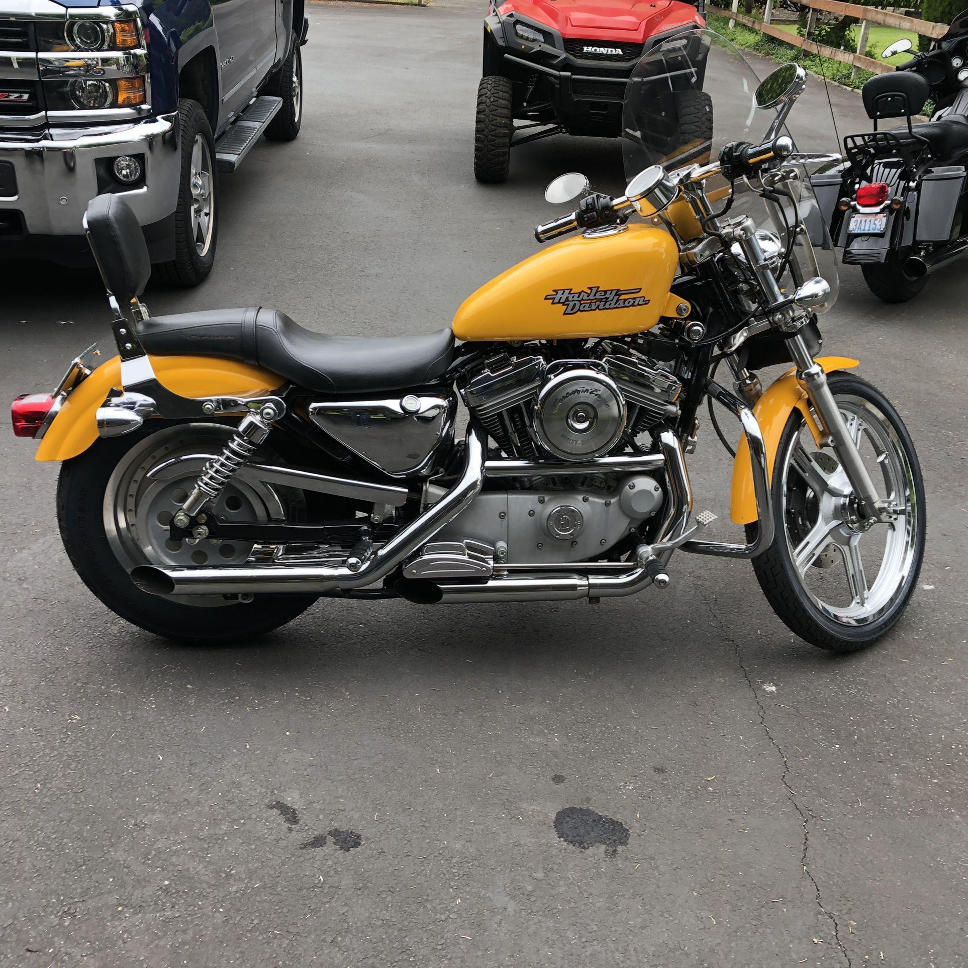 Photo 2000 Harley Davidson Sportster 883 Custom