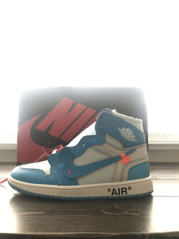b4a75dfba07 Off White Nike Air Jordan 1 UNC Size 8 for Sale in McKinney