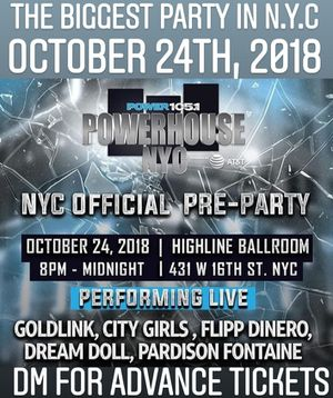 POWER 105 (18+) CONCERT for Sale in New York, NY