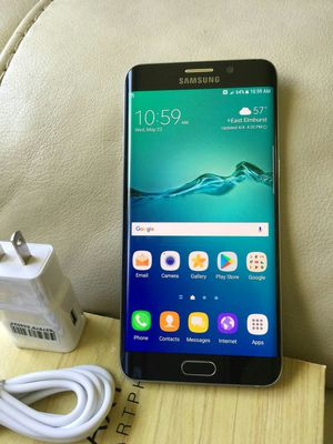 Samsung Galaxy S 6 edge plus , UNLOCKED . Excellent Condition ( as like New) for Sale in Fort Belvoir, VA