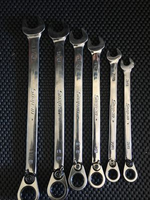 Photo Snap-on gearwrench ratchet wrench set