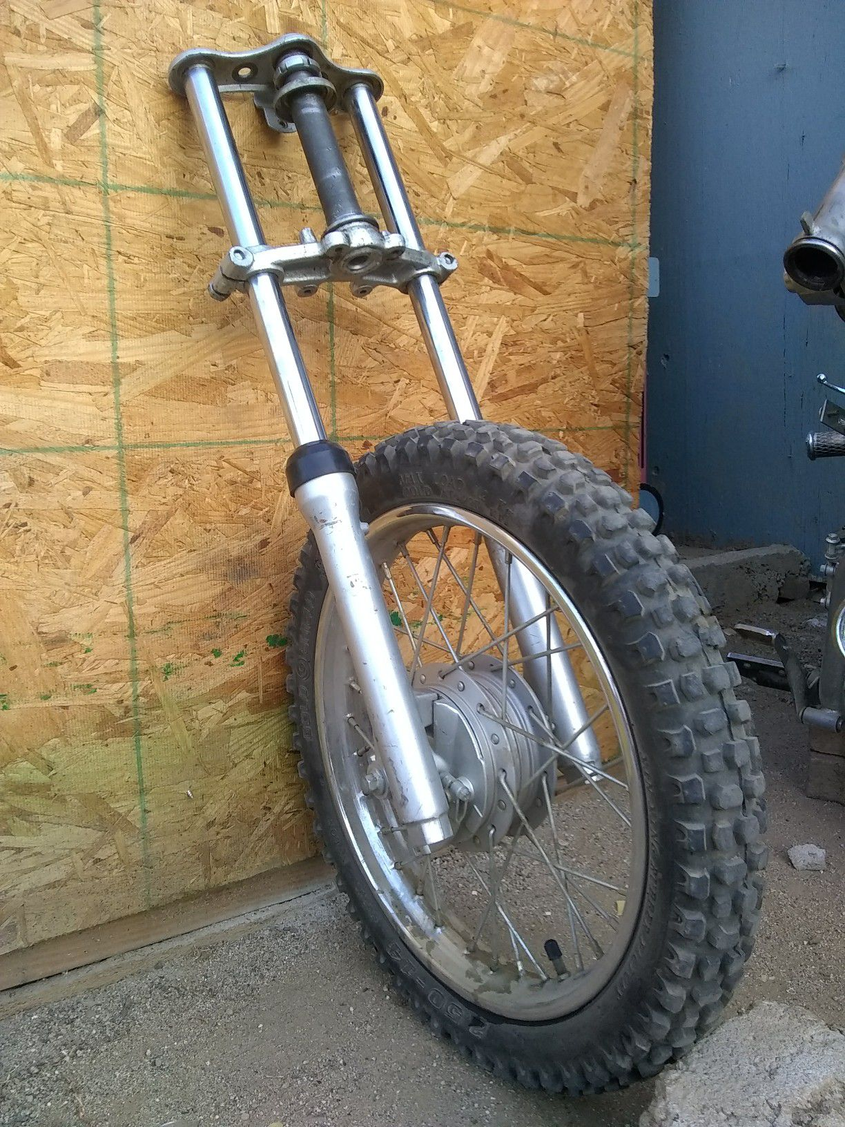 Pit bike front end