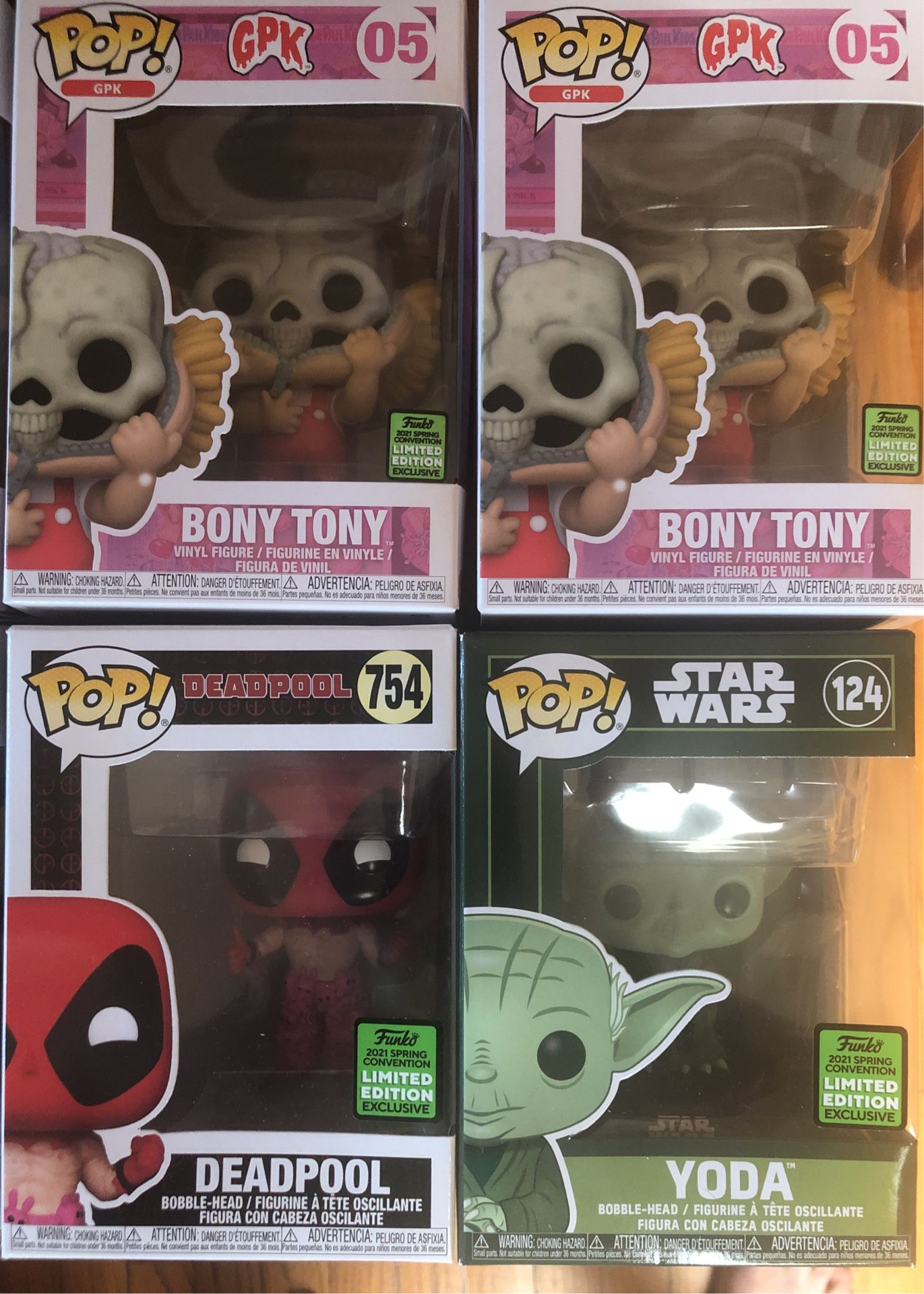 Funko Pops ECCC! Multiple of Each!!! All Brand New!!