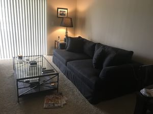 Couch coffee table and end table for Sale in Herndon, VA
