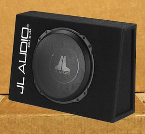 Photo JL Audio 12 Bass Speaker TW3 Series Sealed Power Wedge Truck Style Enclosure 1000 Watts 🚨 90 Day Payment Options Available 🚨 No Credit Needed 🚨