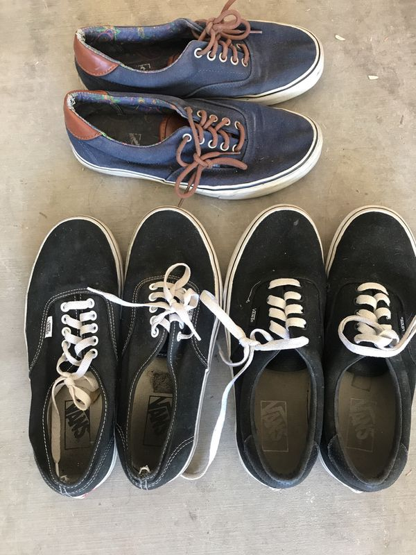 2e72df967f 3 pairs Men s size 9 vans for Sale in Avondale