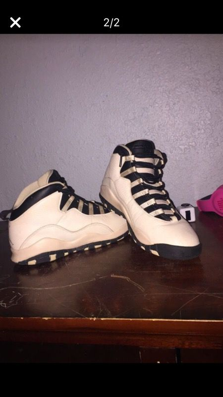 76dc2e7a03a Air Jordan retro 10 cream tens for Sale in Orange City