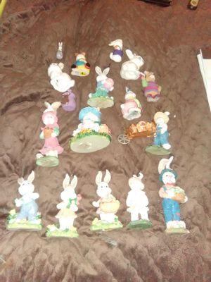 Rabbit figurine collection for sale  Wichita, KS