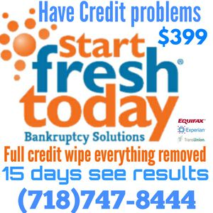 Credit problems !!! We Clean Your Credit Files 700+ for Sale in Queens, NY