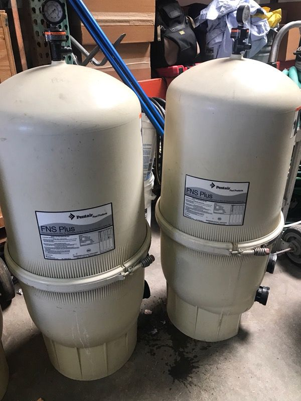 Used Swimming Pool Filter! Pentair and Hayward! 60sq ft DE! Save$ for Sale  in Riverside, CA - OfferUp