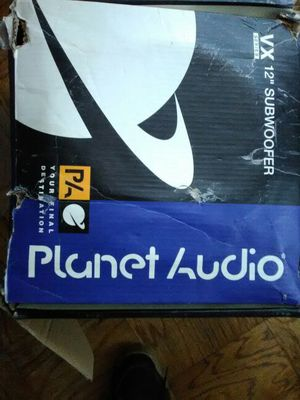 Planet audio car speakers for Sale in Glen Burnie, MD