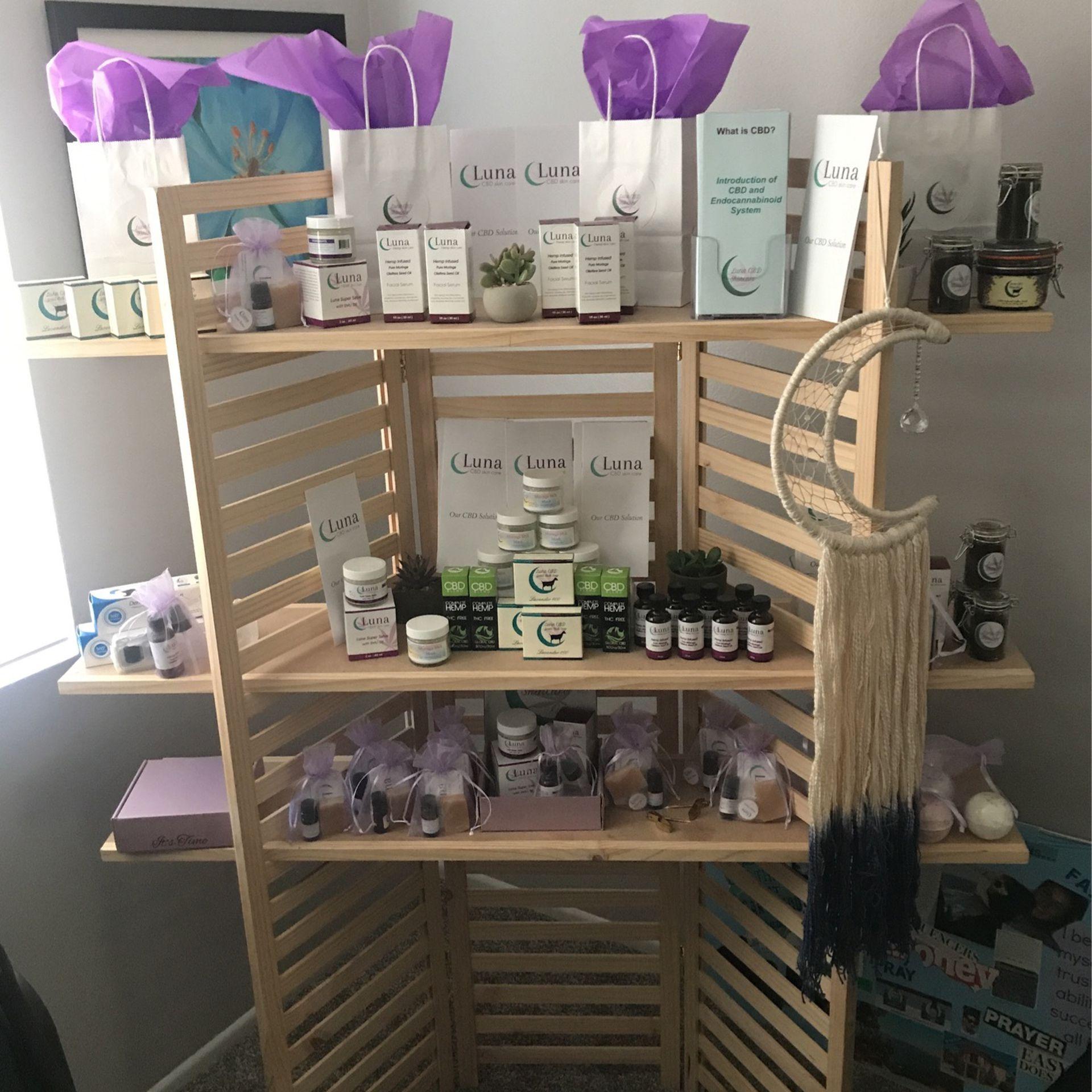 Luna Hemp Infused Skincare Products
