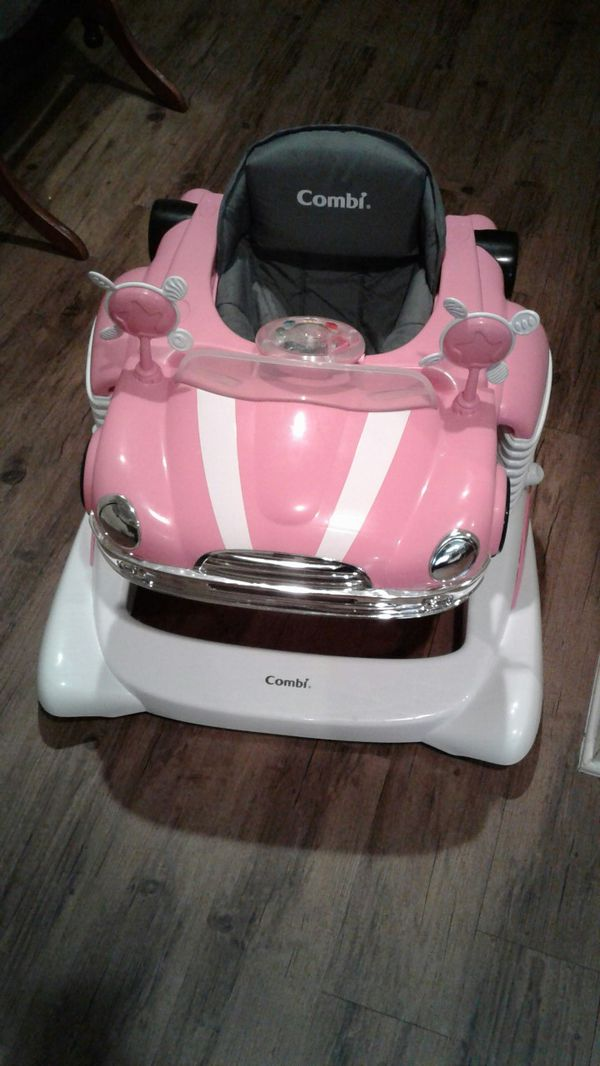 bc37521d3494 Pink car walker and bouncer for Sale in Murfreesboro