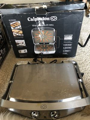Calphalon removable plate grill for Sale in Seattle, WA