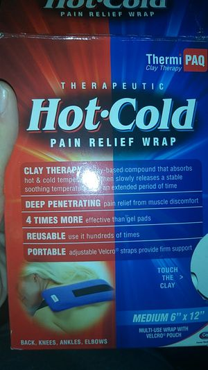 Pain relief wrap for Sale in St. Louis, MO