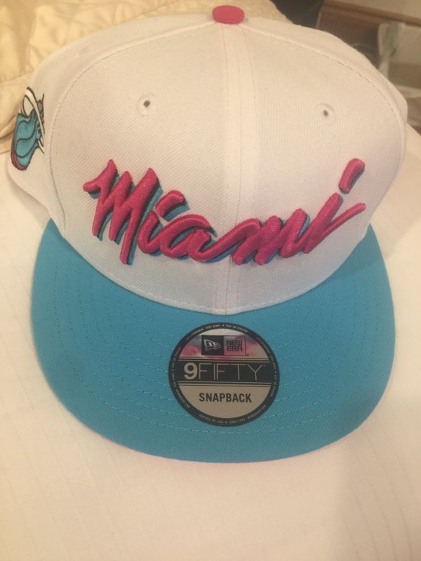 4b2fc4604 Miami Heat Vice New Era Snapback Hat New for Sale in Davie