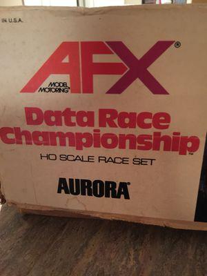 Vintage Aurora AFX HO Scale Model Motoring Racing Set. for Sale in Great Falls, VA