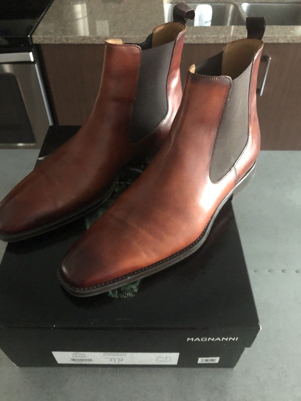 genuine shoes professional sale best sell Magnanni Sean Chelsea Boots in Cognac for Sale in Seattle, WA ...
