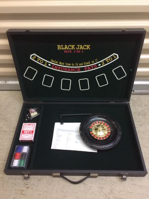 Blackjack, Roulette, & more, brief case a for Sale in Dublin, OH