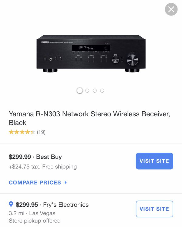 Yamaha R-N303 Network Stereo Wireless Receiver for Sale in Las Vegas, NV -  OfferUp