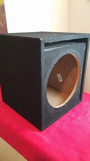 12 inch sub box for Sale in Manassas, VA