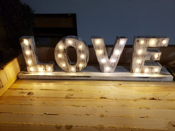 light up marquee signs wedding decor for sale in