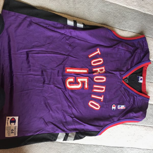 cheap for discount 8d7b6 176d5 Champion Vince Carter Toronto raptors jersey