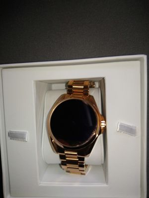 Micheal kors rose gold smartwatch for Sale in Potomac, MD