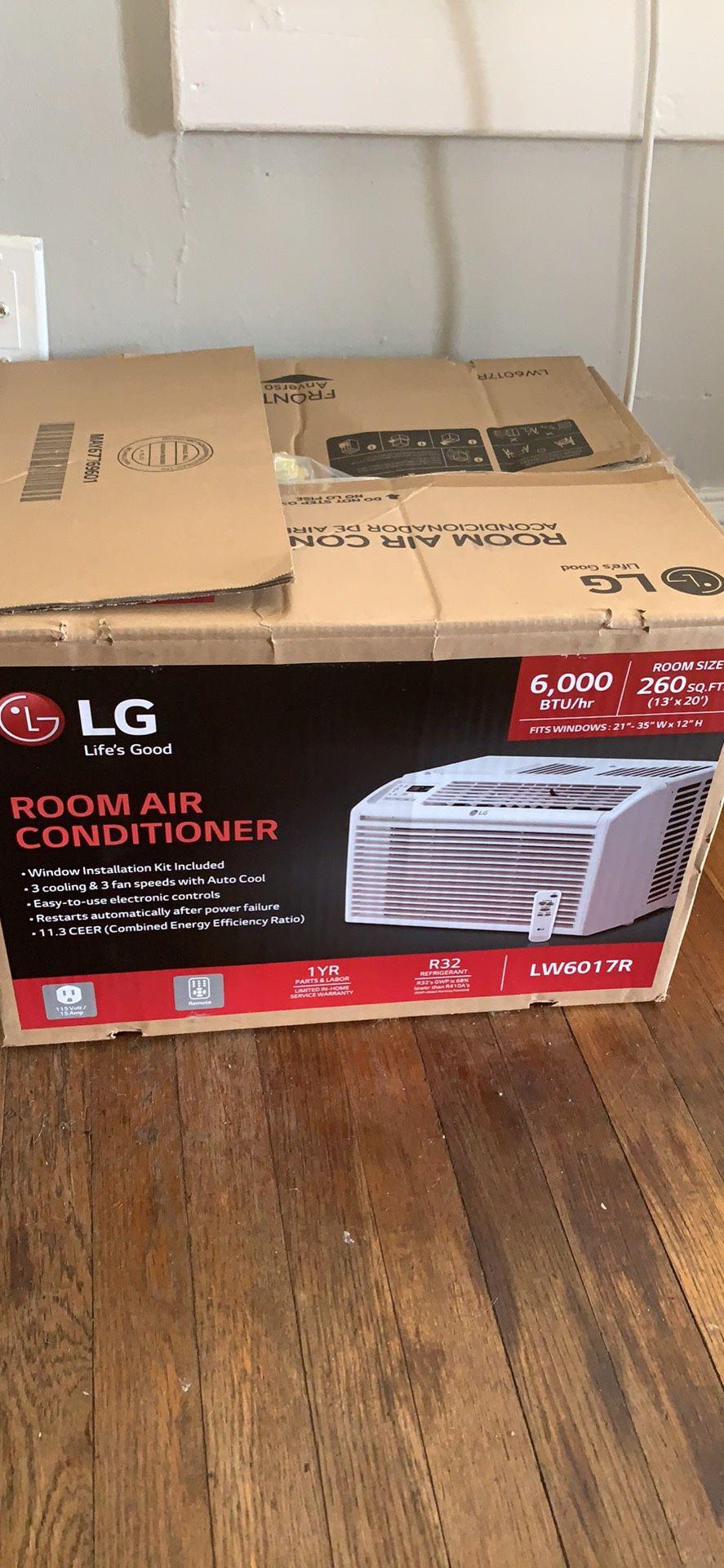 Window air conditioner AC air conditioning unit 6,000 btu Energy star. Dehumidifier MOVING SOON a/c