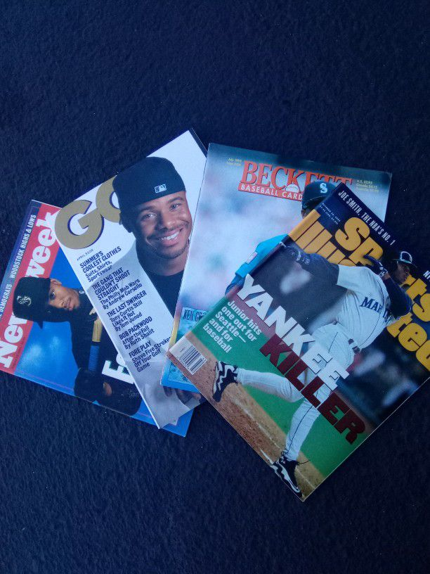 Jr Featured In Collectable Magazine's. (Rare)