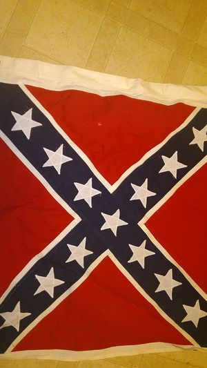 Canvas Confederate Battle Flag for Sale in Fayetteville, NC