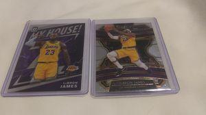 Photo 💜💛🏀💜💛🏀💜💛🏀🏀LeBron James 2019 - 20 2 Premium Basketball Card Lot 💜💛🏀💜💛🏀💜💛🏀💜🏀