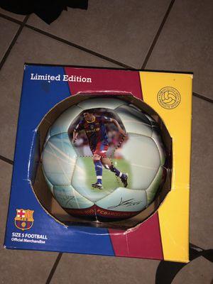 Fc Barcelona soccer ball for Sale in Dallas, TX