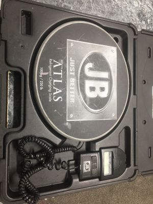JB ATLAS REGRIGERANT CHARGING SCALE for Sale in Silver Spring, MD