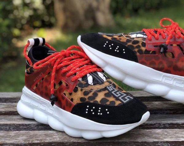 Versace Chain-Reaction sneakers 2 Chainz for Sale in Atlanta, GA - OfferUp