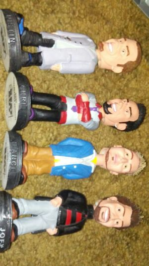 Nsync statues 2001 best buy collecters edition for Sale in Orlando, FL