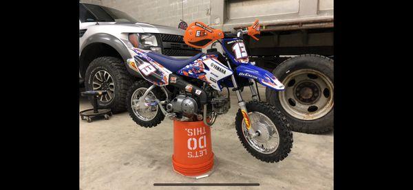 2018 yamaha ttr50 ttr 50 ttr-50 50cc dirtbike great condition