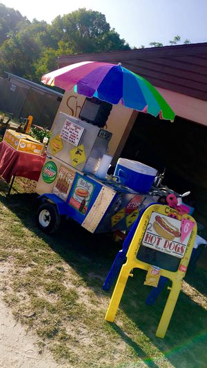 2018 HOT DOG CART MUST BE SOLD TOMORROW MONDAY!!!!! for Sale in Clermont, FL