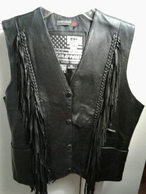 Ladie's Leather Vest for Sale in Santa Monica, CA