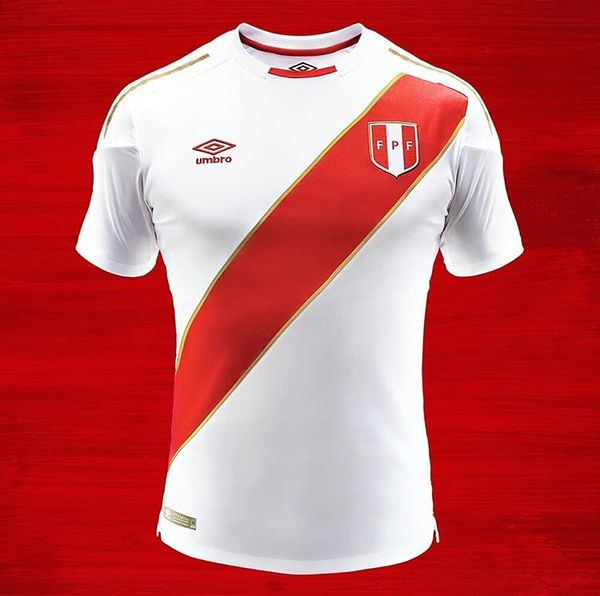 86c444f59 Umbro Peru World Cup Home Soccer Jersey Russia 2018 for Sale in ...