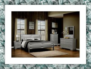 11pc Cherry bedroom set free shipping for Sale in Marlow Heights, MD