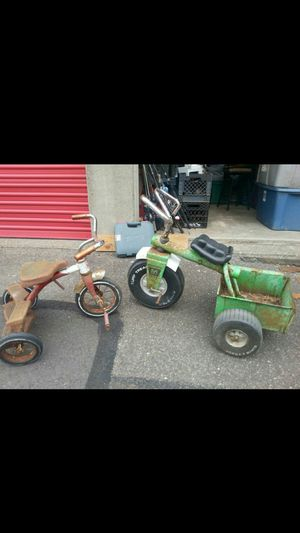 Antique tricycles for Sale in Graham, WA