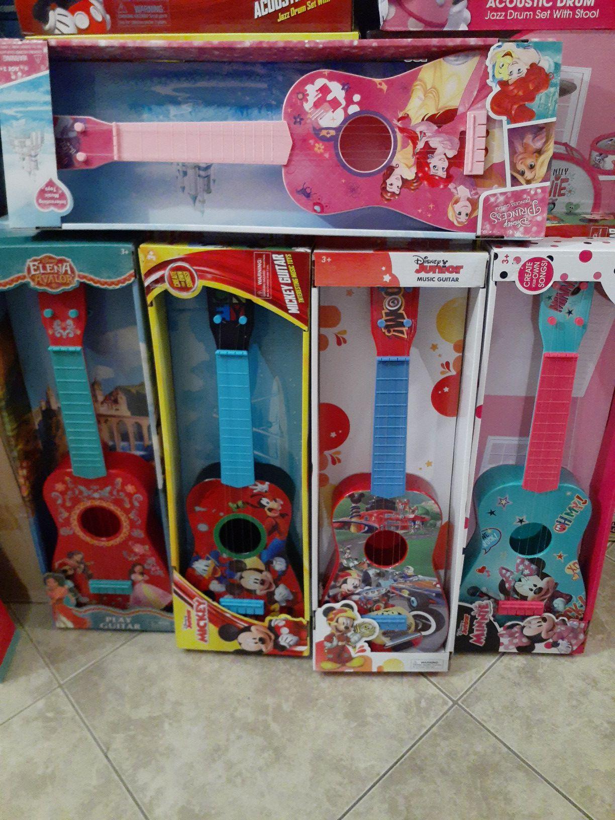 Disney guitars
