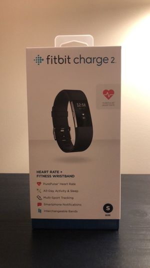BRAND NEW, NEVER OPENED Fitbit Charge 2 Size S for Sale in Alexandria, VA